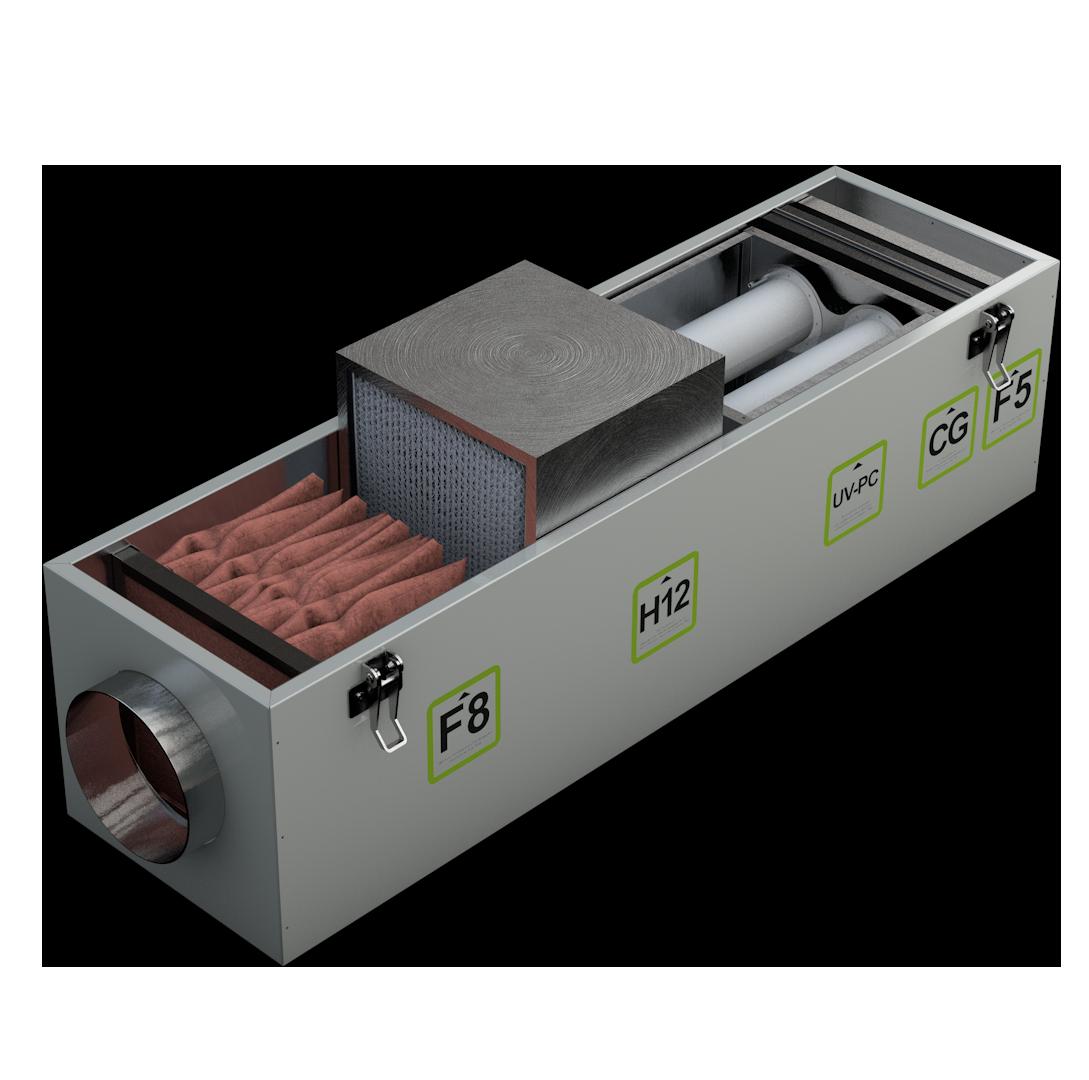 Вторая ступень фильтра воздуха Alasca Ecofilter5 HEPA