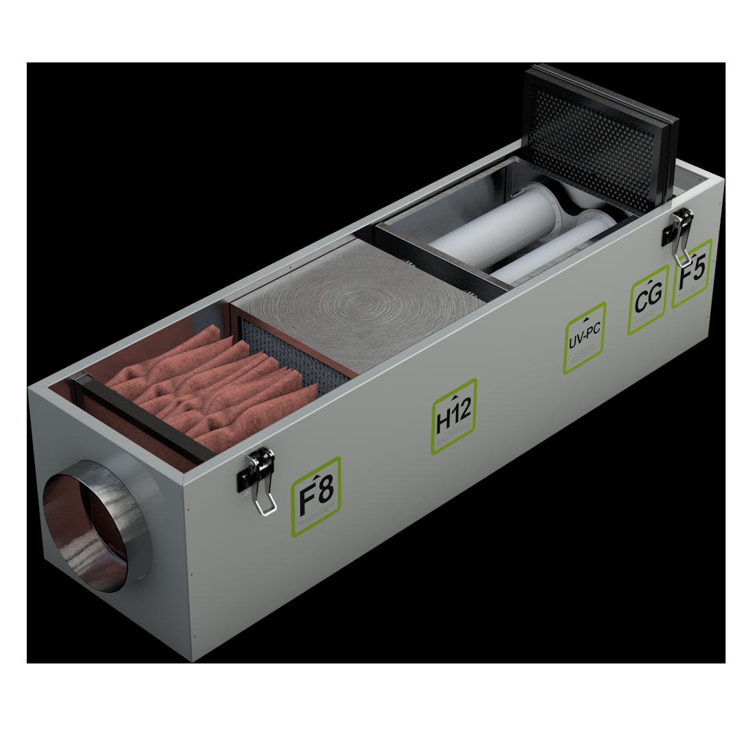 Четвертая ступень фильтра воздуха Alasca Ecofilter5