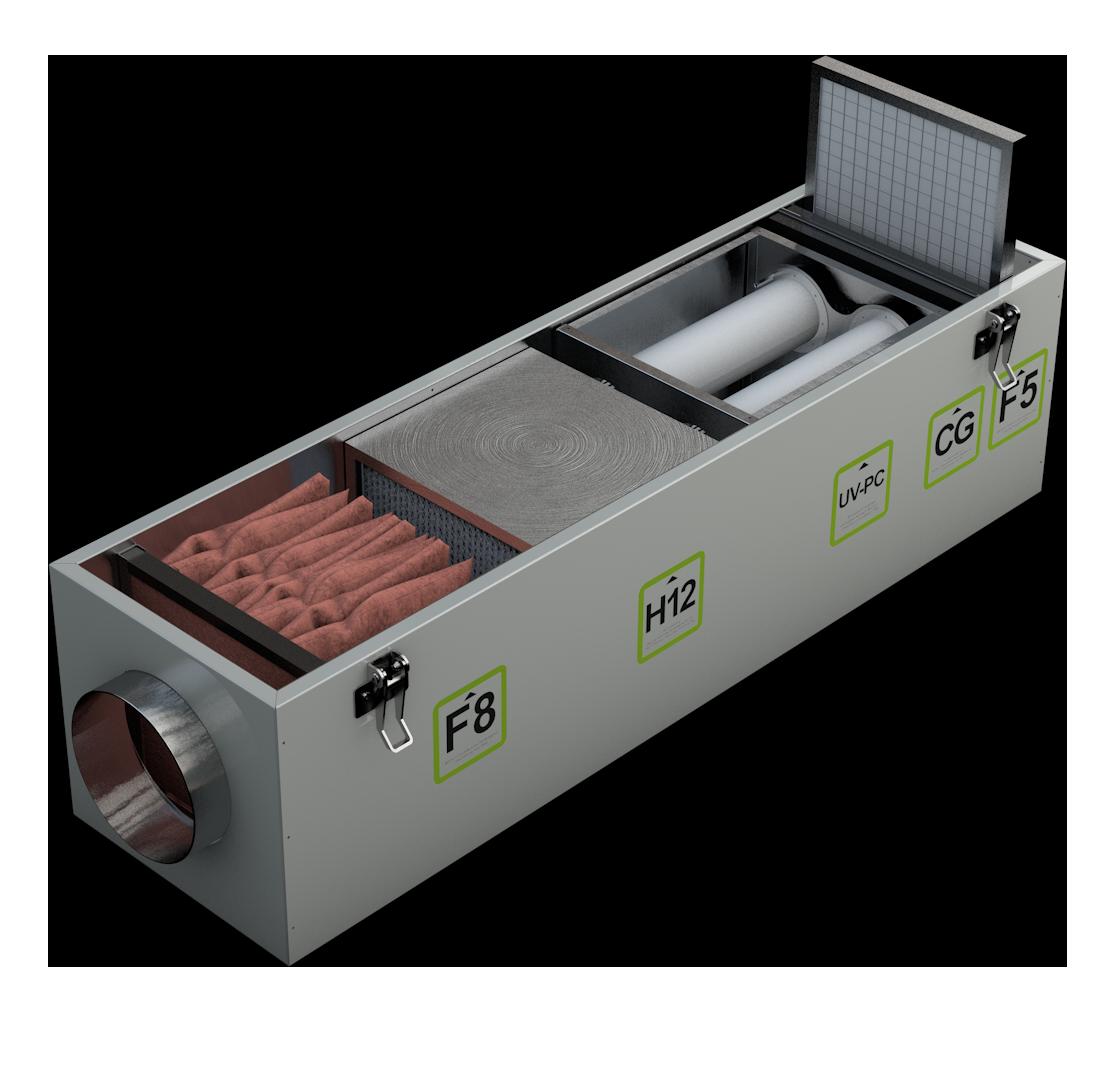 Пятая ступень фильтра воздуха Alasca Ecofilter5